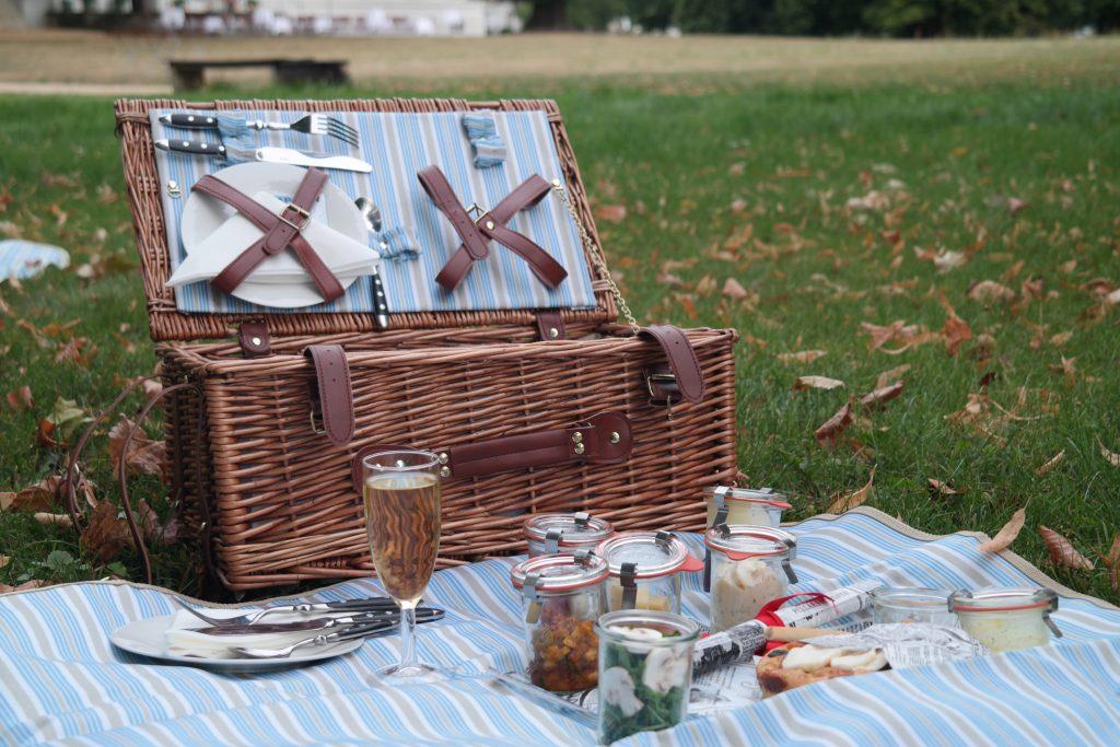 Picknick Schloss Neuhardenberg