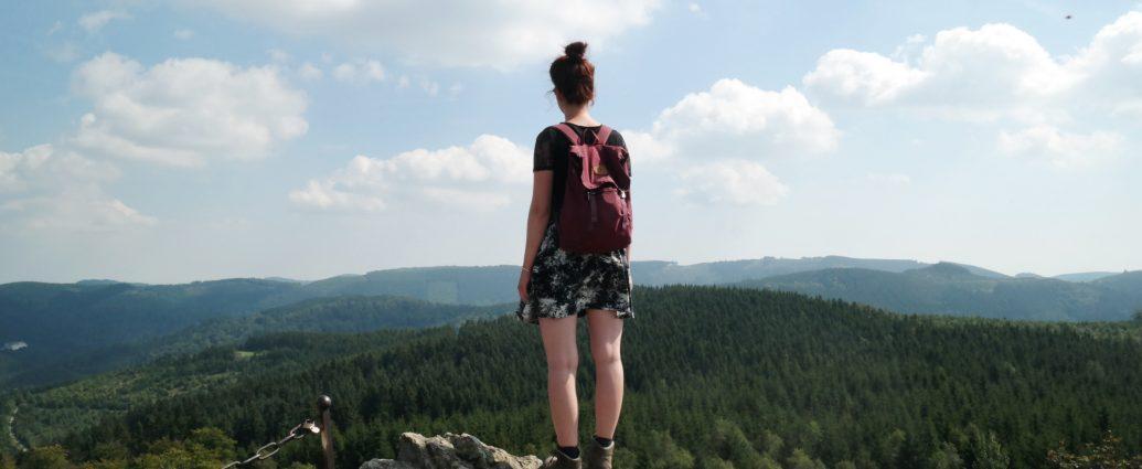 Wandeling Bruchhauser Steine
