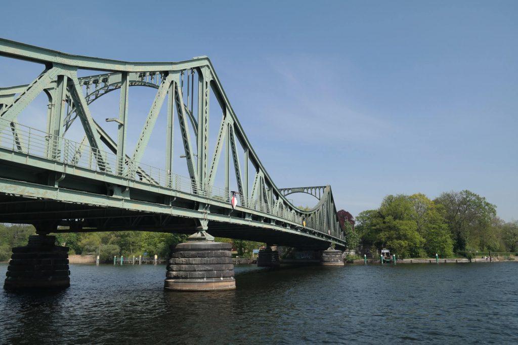Glienicker Brücke spionnenbrug Potsdam