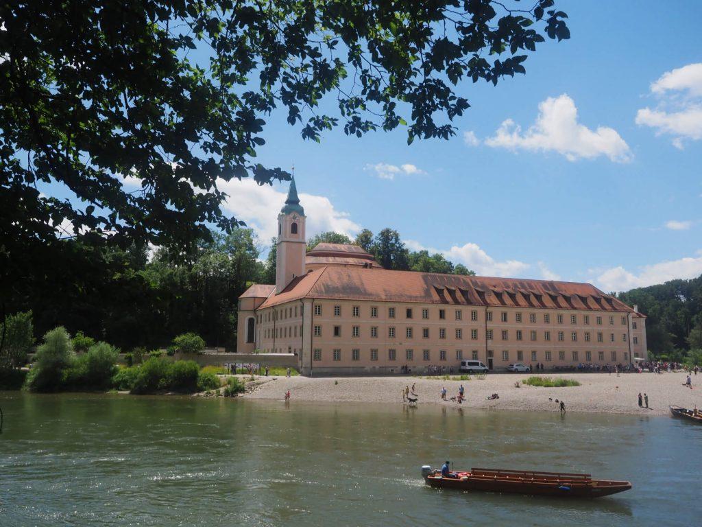Met de boot naar Kloster Weltenburg bij Kelheim