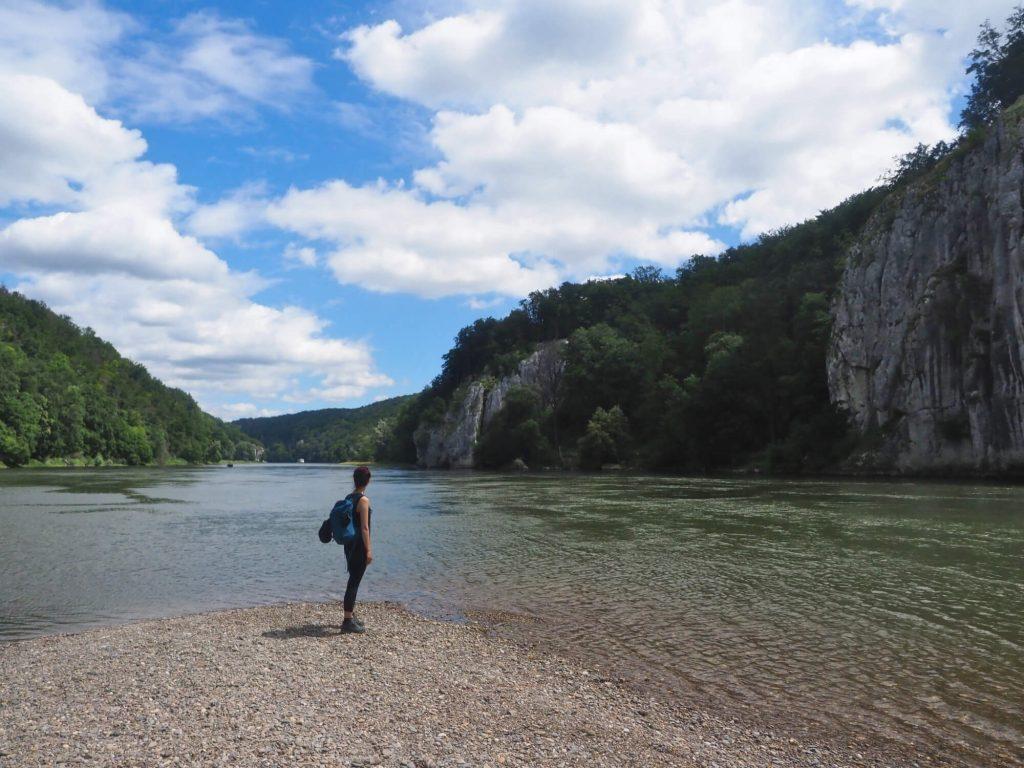 Wandelen door de Donaudurchbruch bij Kelheim