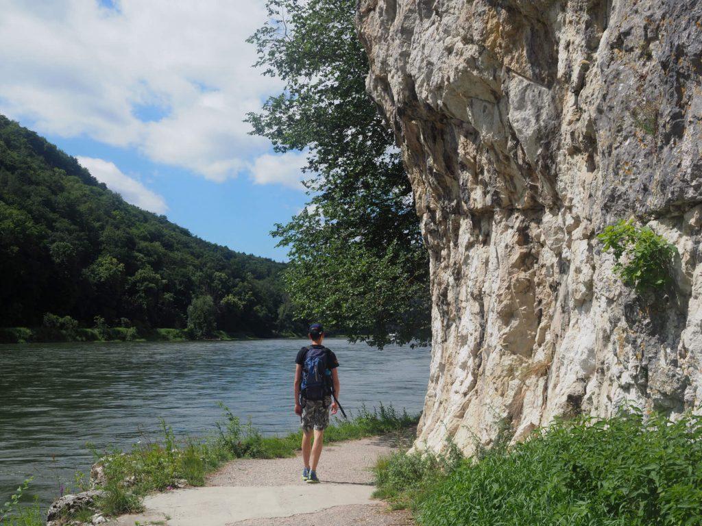 Wandelen langs de Donau in het Altmühltal