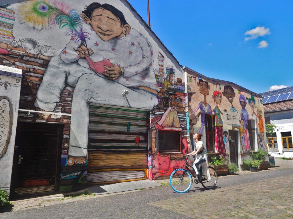 Hannover Linden Kulturzentrum Faust street art