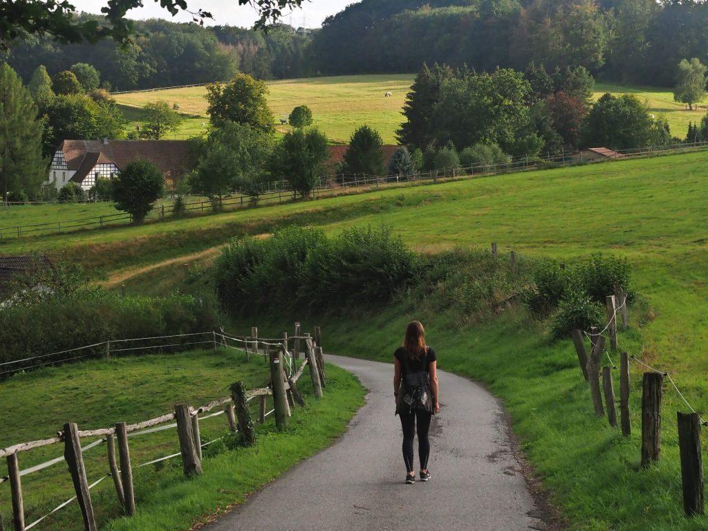 Wandelen in het Zittertal in het Osnabrücker Land