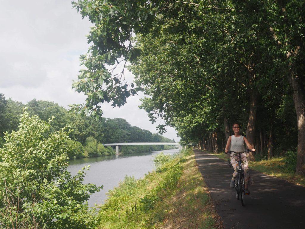 Fietsen in de omgeving van Meppen in Duitsland