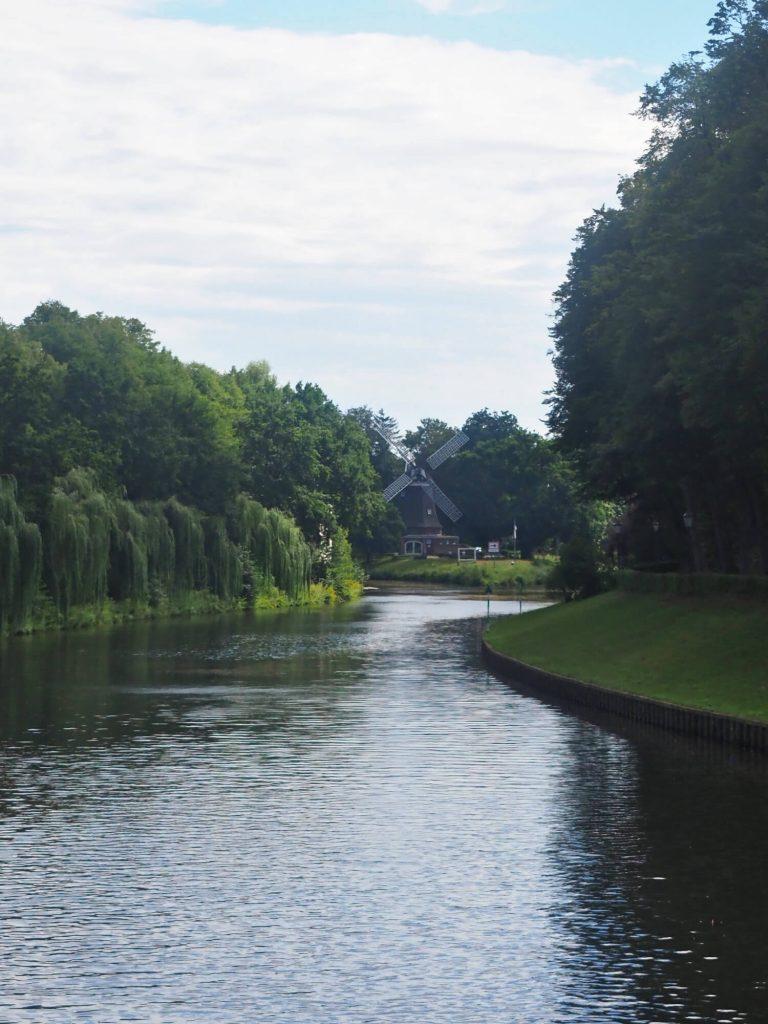 Molen in Meppen in Duitsland