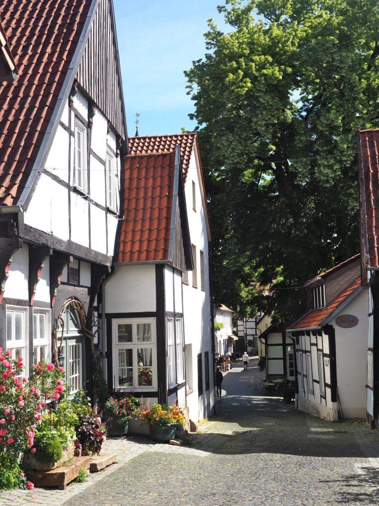 Tecklenburg stad centrum