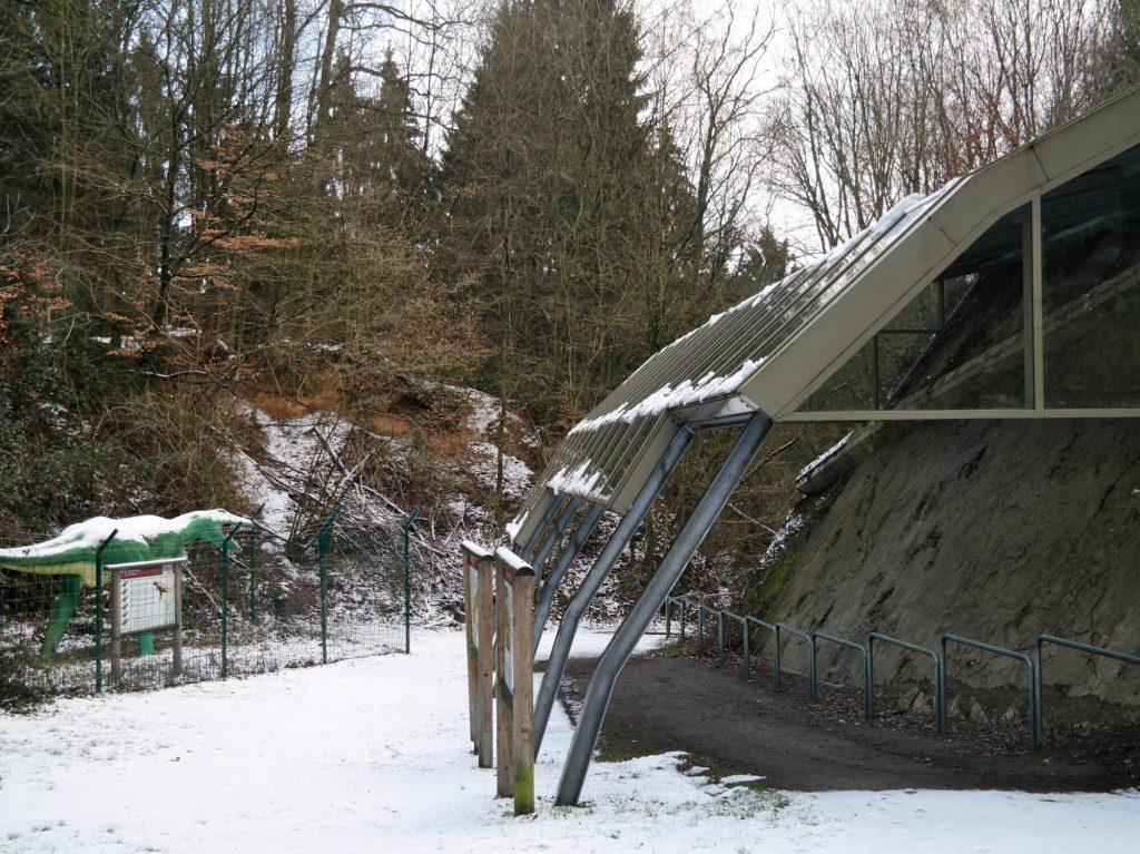 Dinosaurussporen Bad Essen-Barkhausen in het Osnabrücker Land