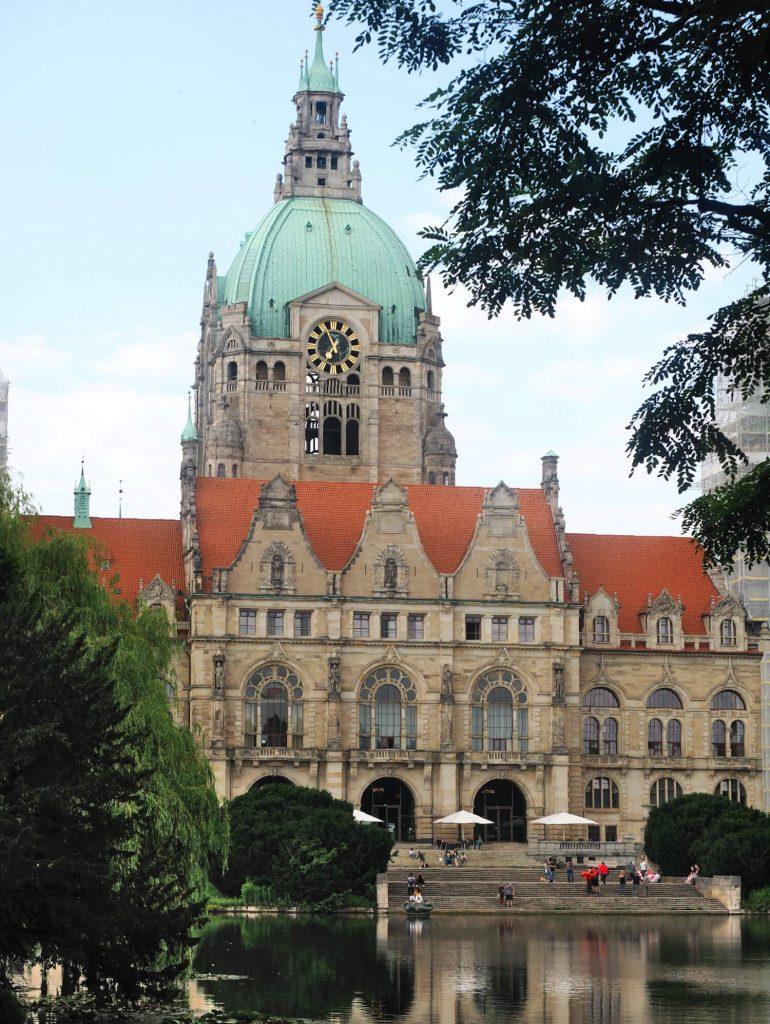 Neues Rathaus in Hannover, een van de bezienswaardigheden