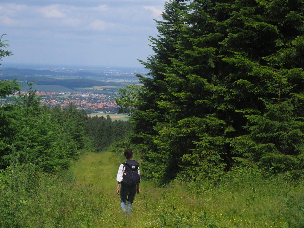 Wandelen in de Deister tijdens weekendje in Hannover