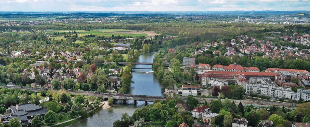 Actieve stedentrip in Ulm Duitsland
