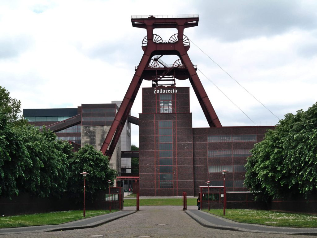 Zeche Zollverein Essen Duitsland