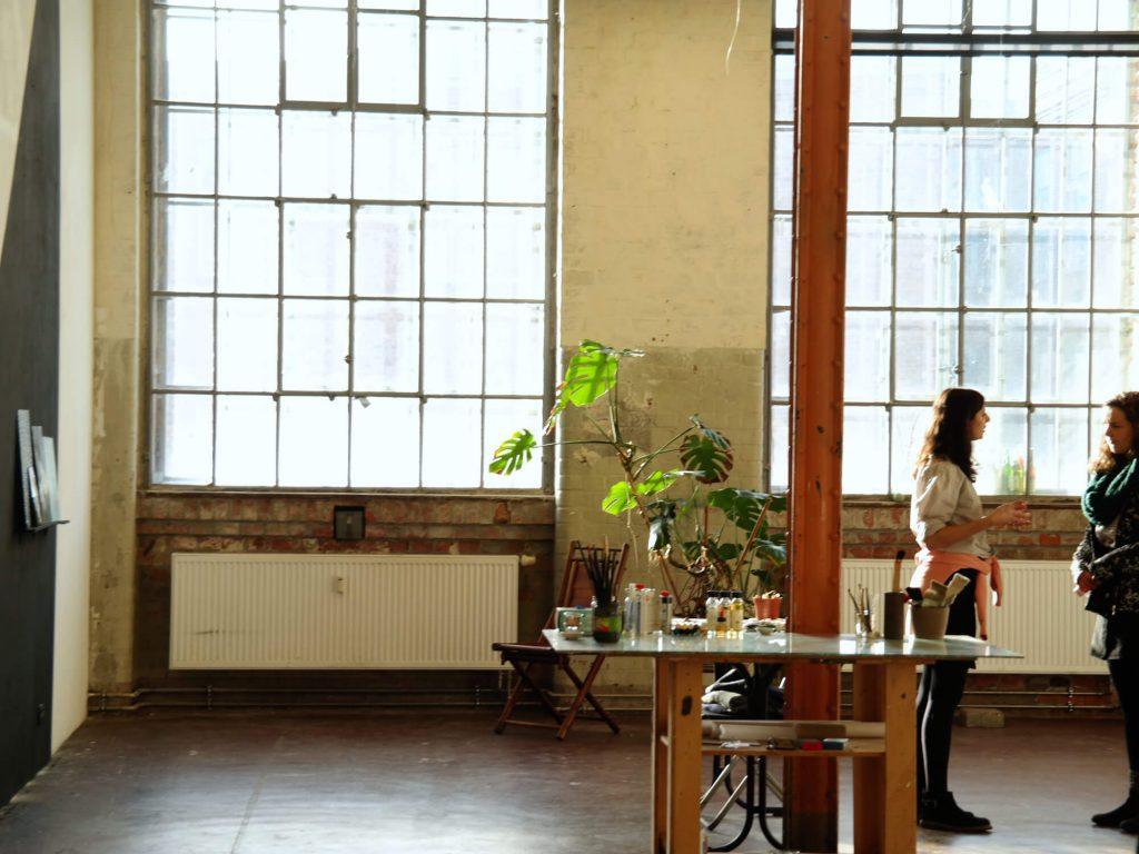 Atelier in de Baumwollspinnerei Leipzig