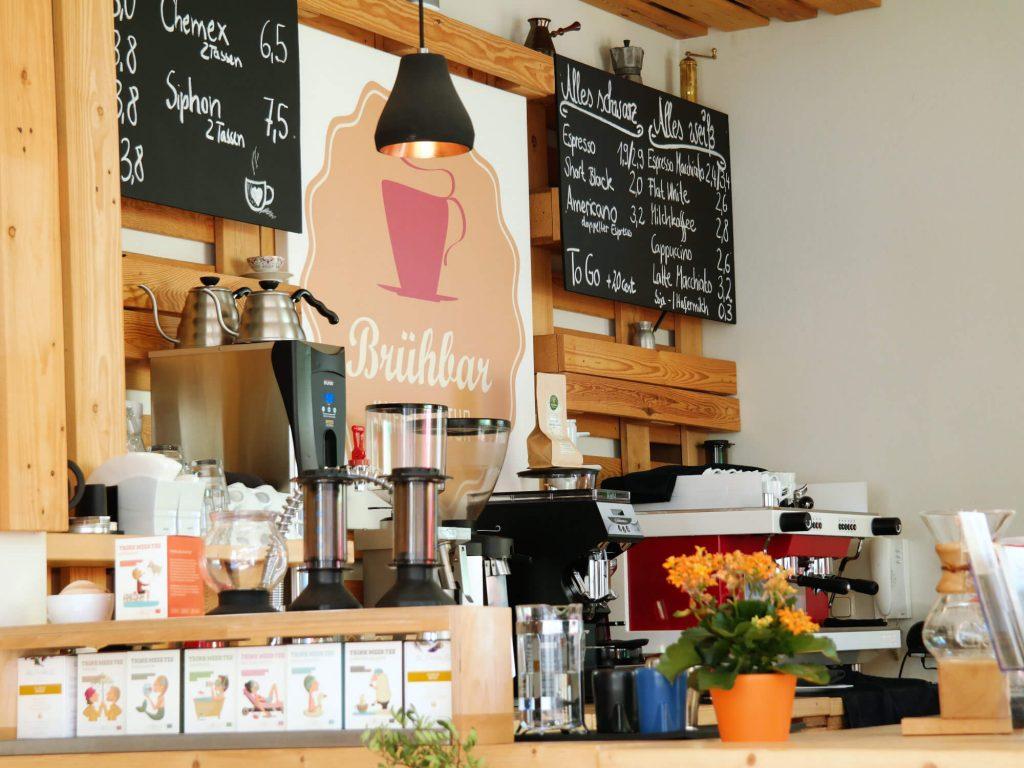 Brühbar café in Leipzig