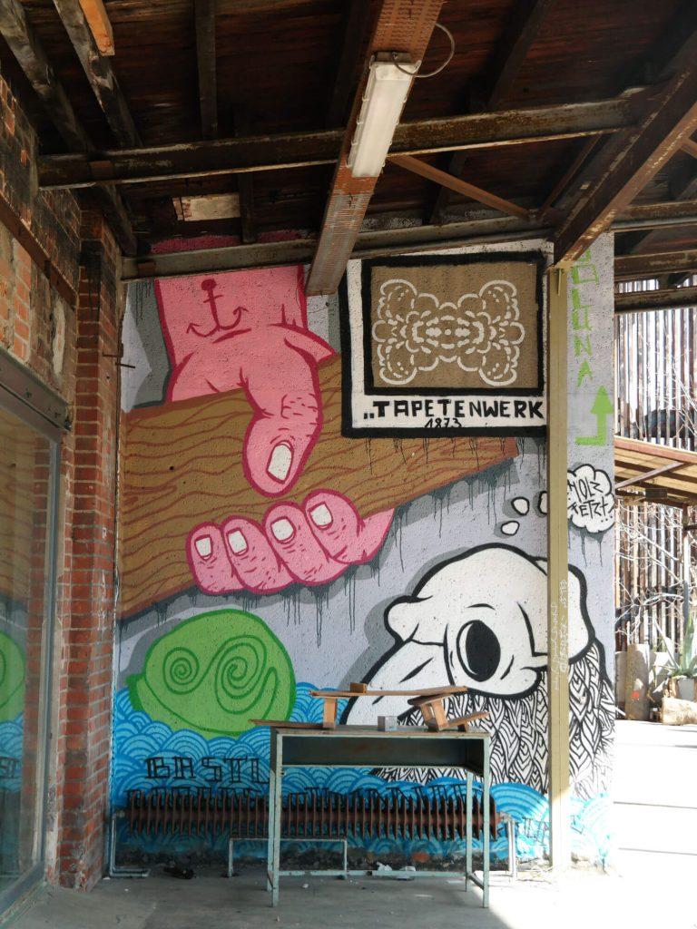 Street art Tapetenwerk