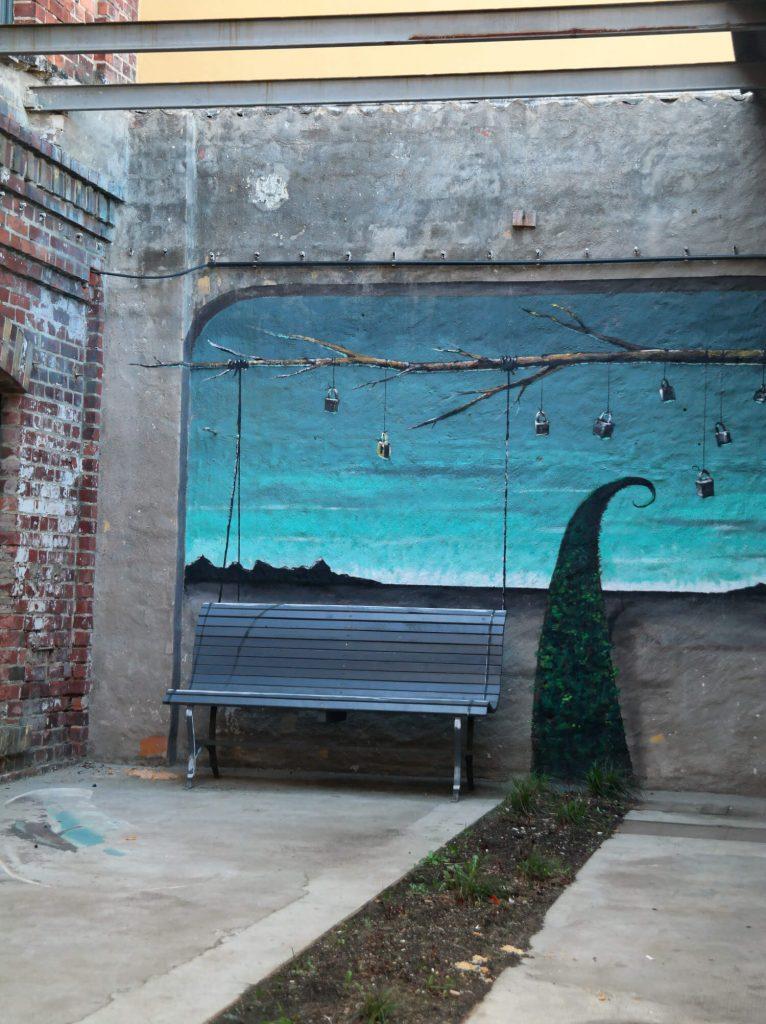 Street art Tapetenwerk Leipzig