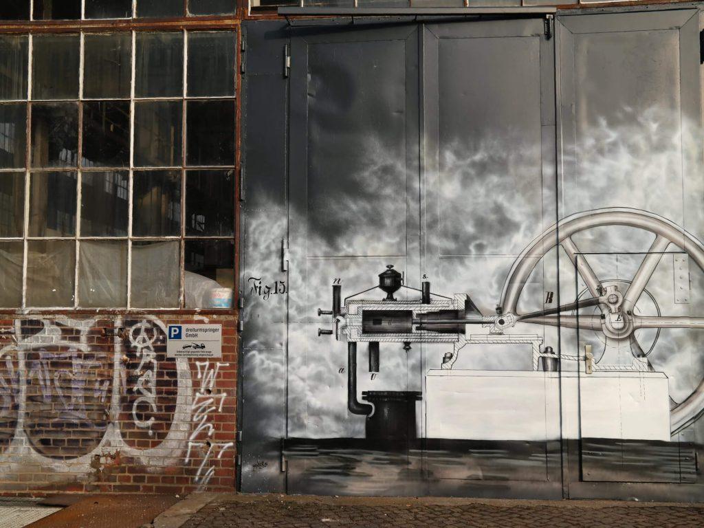 Street art Westwerk Leipzig Plagwitz