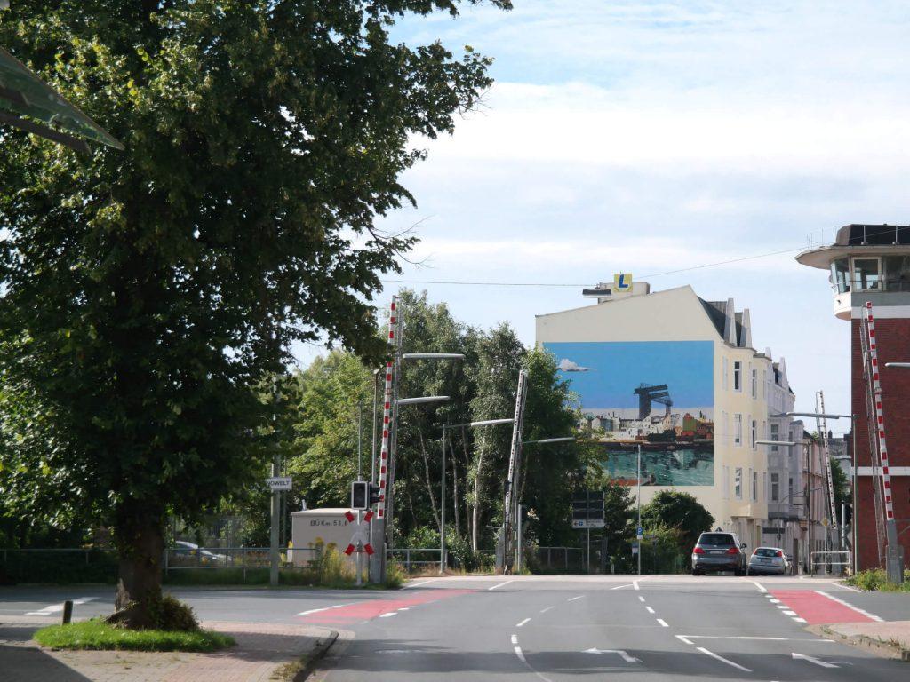 Maritieme street art in Wilhelmshaven