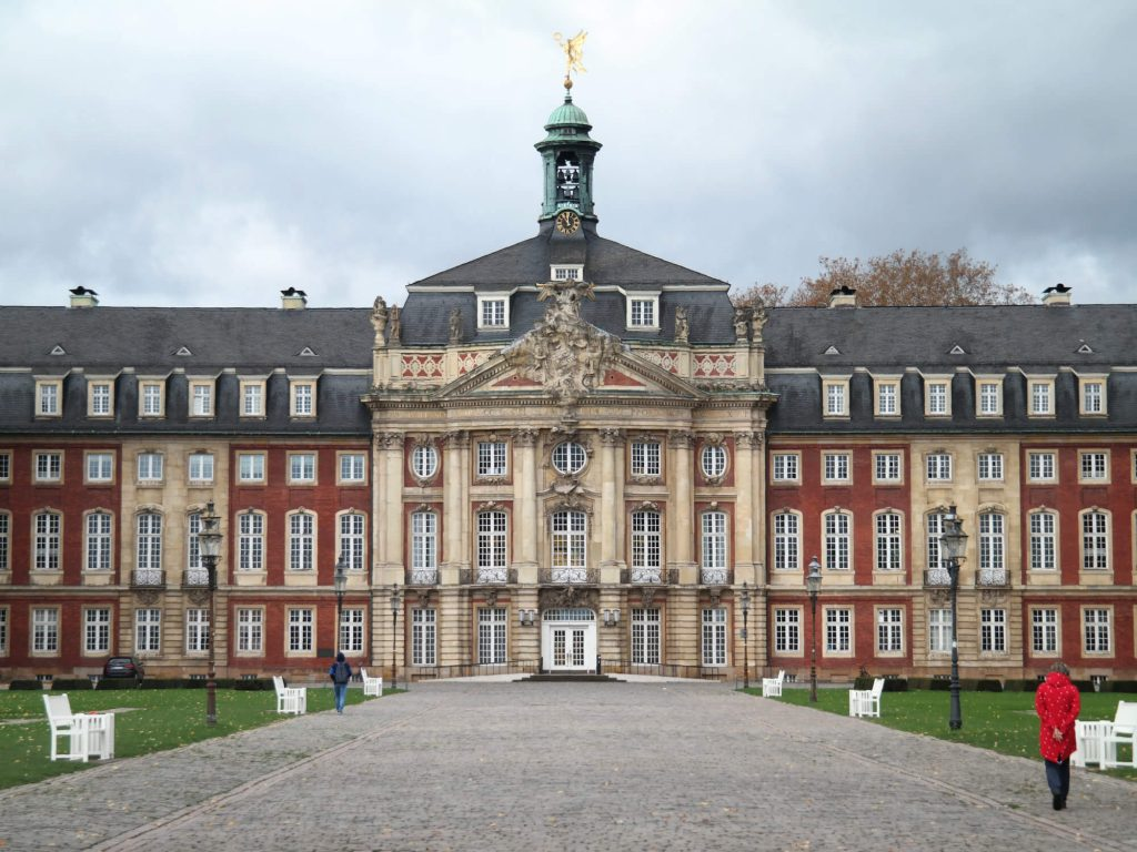 Schloss Münster in Duitsland