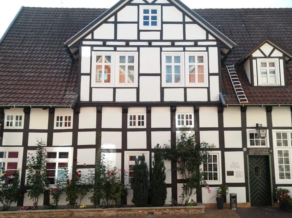 Vakwerk in Bad Laer Duitsland