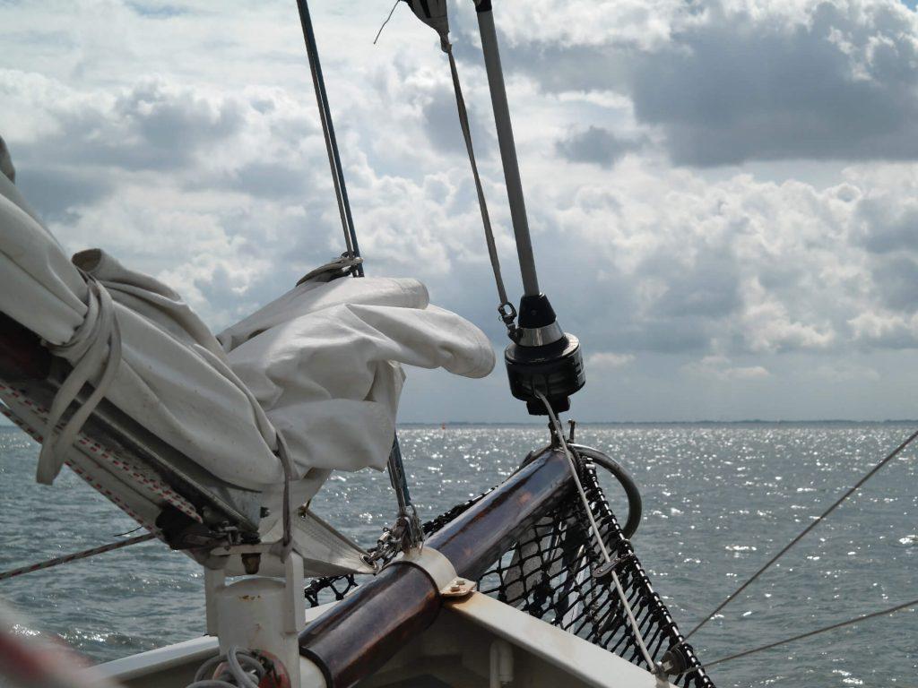 Zeilen op de Noordzee vanuit Wilhelmshaven