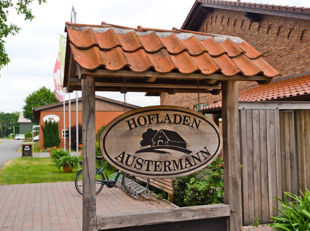 Boerderijwinkel Austermann in het Münsterland Duitsland