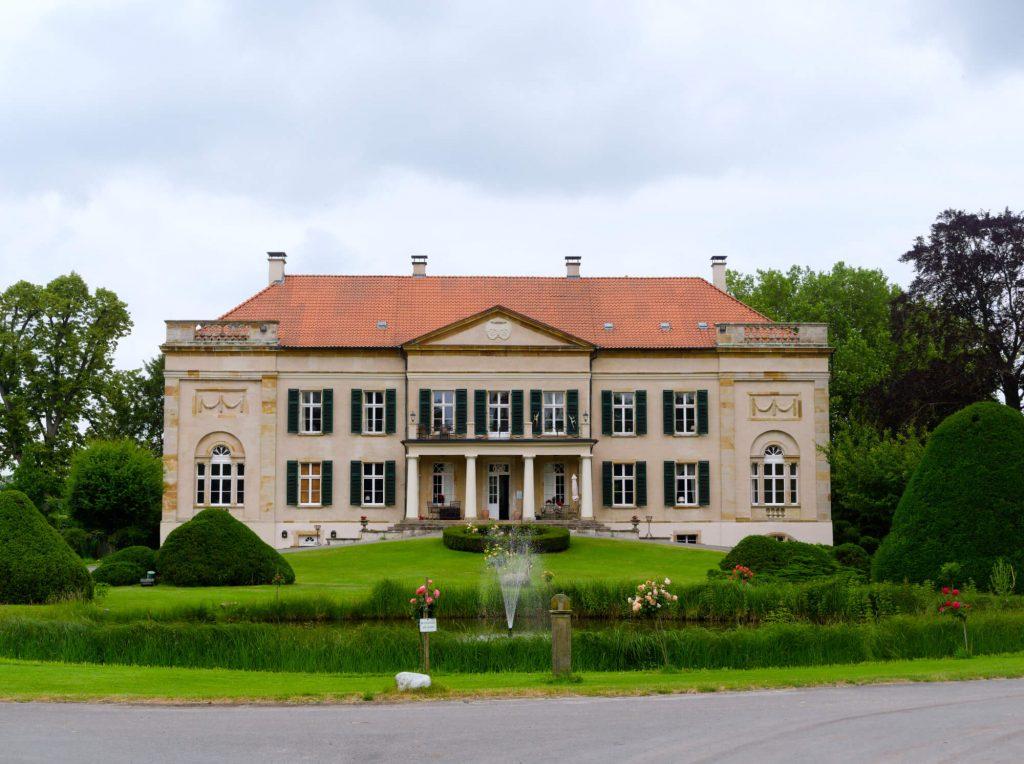 Herrenhaus Harkotten kasteel in het Münsterland