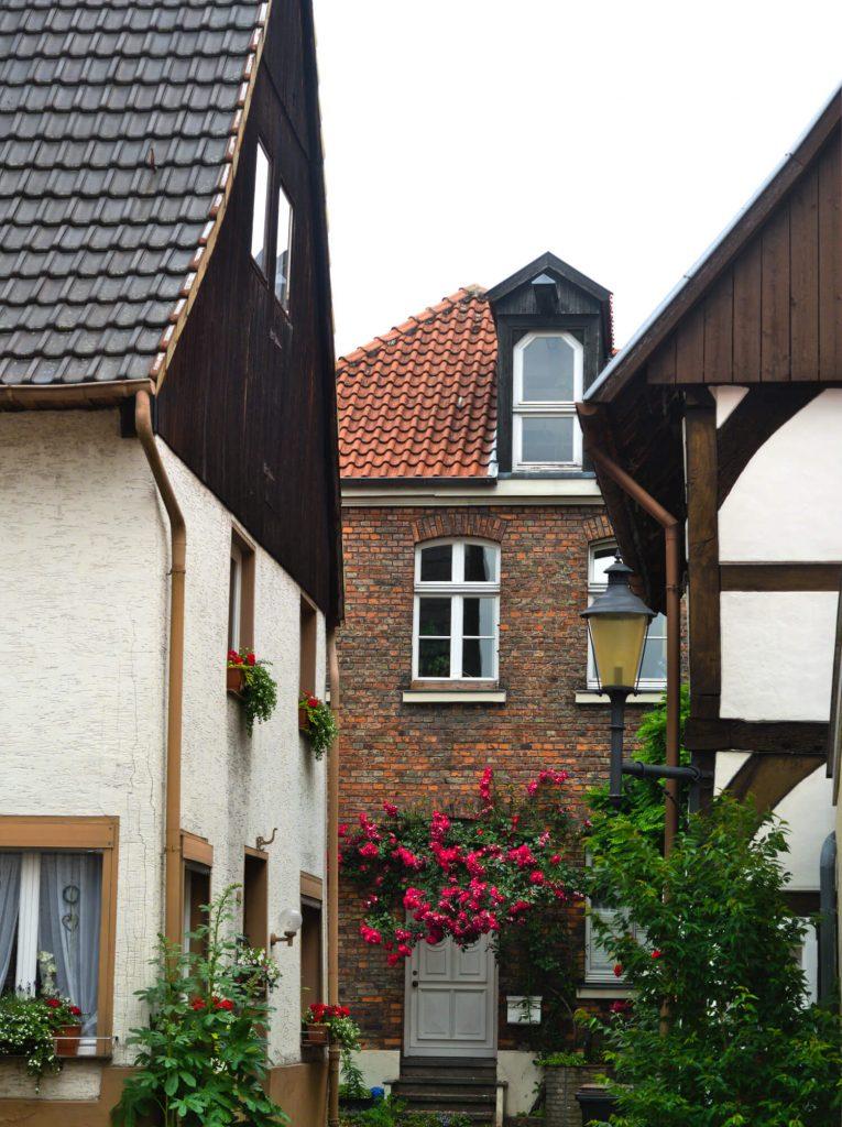 Historisch centrum Warendorf Duitsland