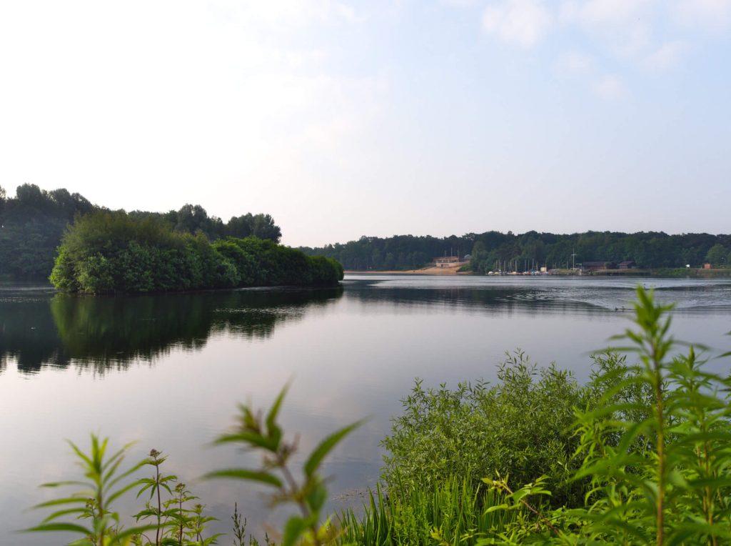 Meer Feldmarksee in Sassenberg Duitsland