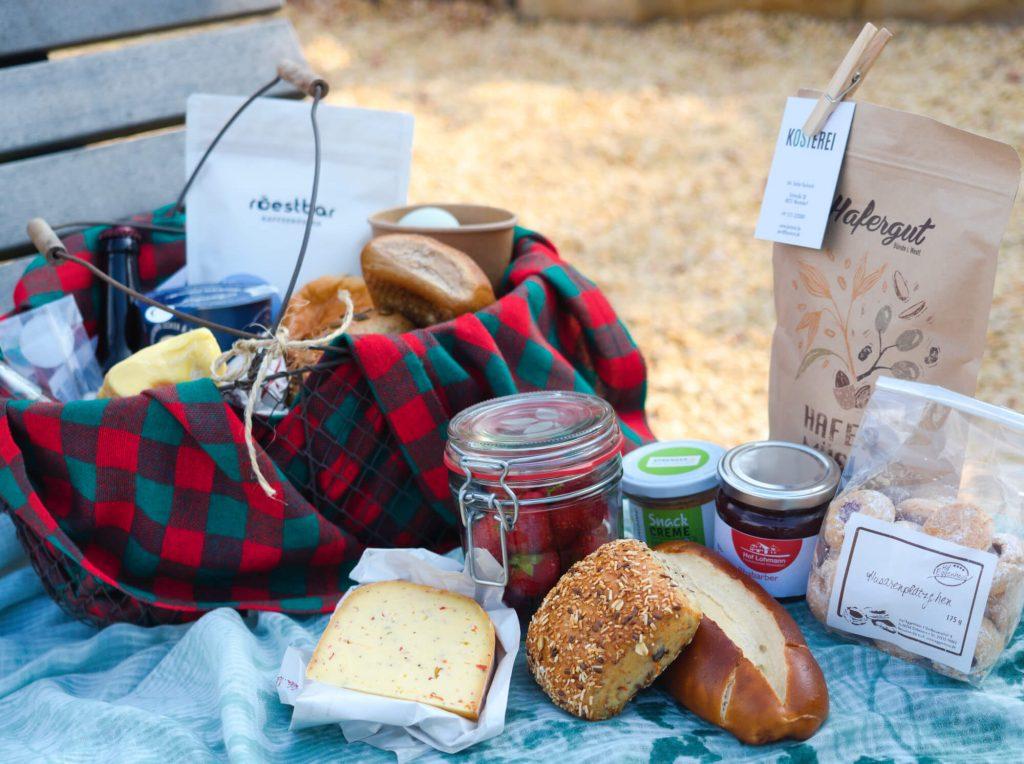 Picknick van de Kosterei Warendorf in het Münsterland