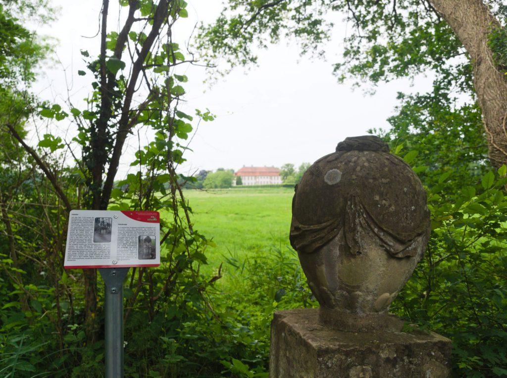 Wandeling bij Schloss Harkotten in het Münsterland