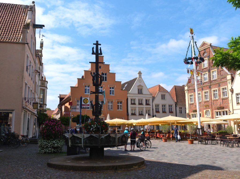 Warendorf marktplein