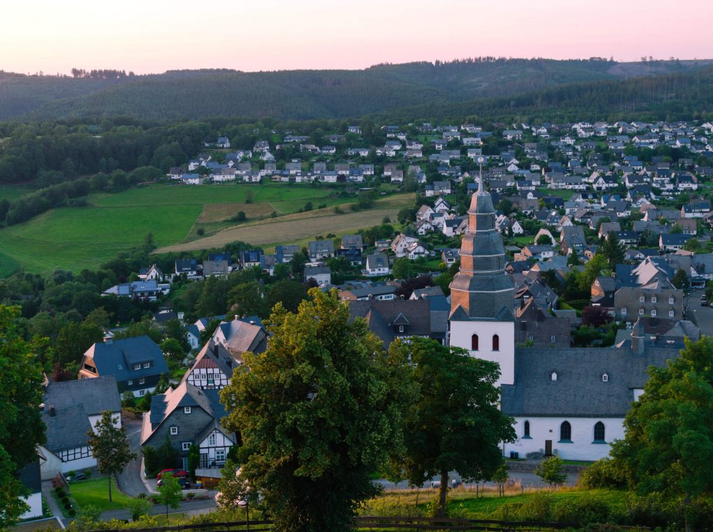 Eversberg Sauerland Duitsland