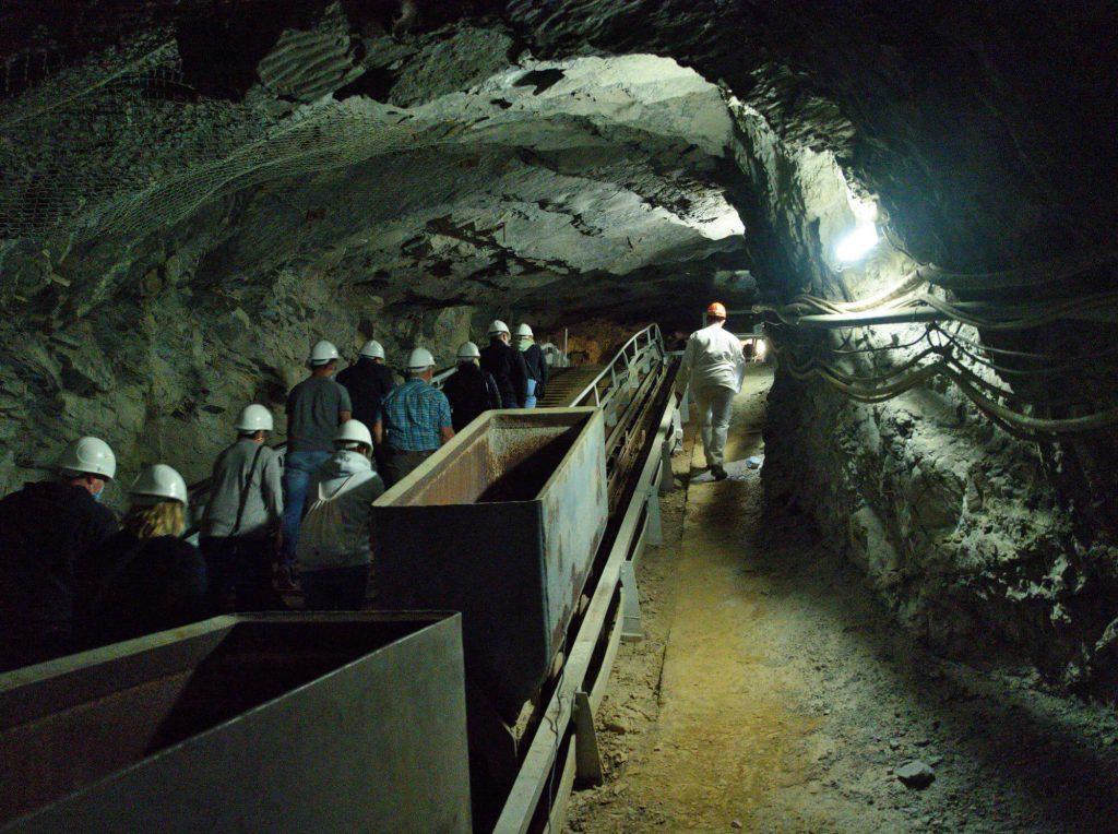 Ondergrondse rondleiding Erzbergwerk Ramsbeck Sauerland
