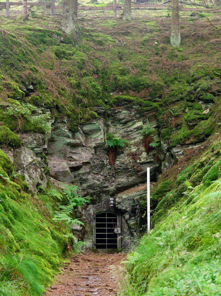 Sporen van mijnbouw op wandelroute Ramsbeck Sauerland