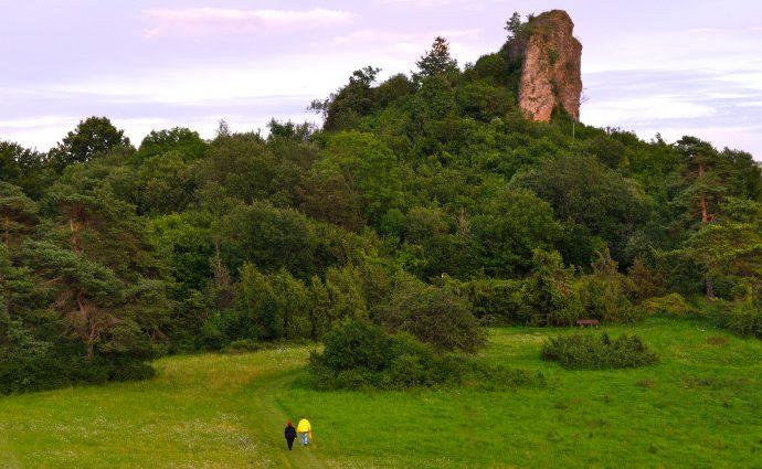 Wandeling Gerolsteiner Dolomieten Eifel Duitsland